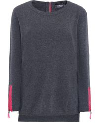 Cocoa Cashmere - Cashmere Zip Sleeve Jumper - Lyst