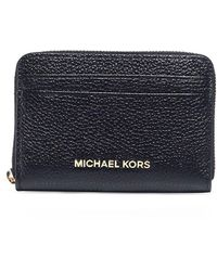 MICHAEL Michael Kors - Pebble Jet Set Card Holder - Lyst