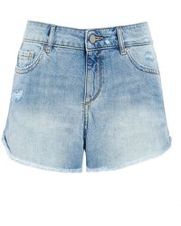 DL1961 - Karlie Westside Denim Shorts - Lyst
