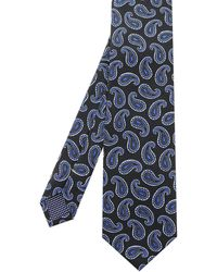 Eton of Sweden - Silk Paisley Tie - Lyst