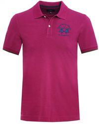 La Martina - Pique Miguel Polo Shirt - Lyst