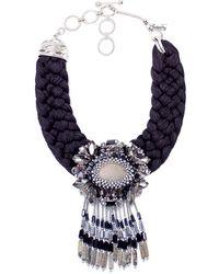 Butterfly   Dark Romance Tassel Necklace   Lyst