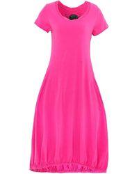 Rundholz - Jersey Short Sleeve Midi Dress - Lyst