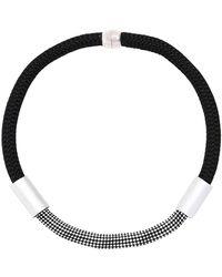 Christina Brampti - Single Rope Tube Necklace - Lyst