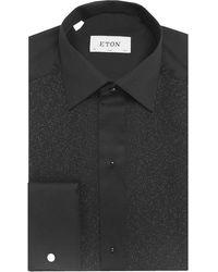 Eton of Sweden - Slim Fit Shimmer Pique Dress Shirt - Lyst