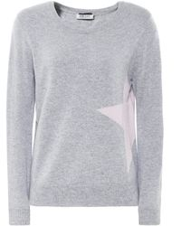 Cocoa Cashmere - Cashmere Side Star Jumper - Lyst