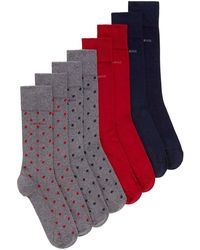 BOSS | Four Pack Of Socks | Lyst