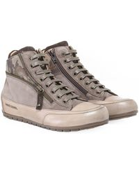 Candice Cooper - Beverly Camo High Top Trainers - Lyst