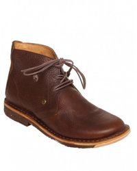 J SHOES - Mojave Bark Leather Desert Boots - Lyst
