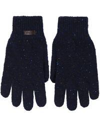 Barbour - Virgin Wool Donegal Gloves - Lyst