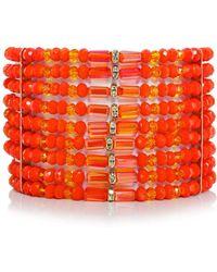 Butterfly | Beaded Columbia Road Cuff Bracelet | Lyst