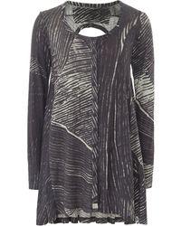Rundholz - Jersey Scribble Print Jacket - Lyst