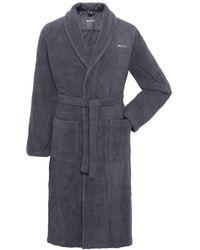 GANT - Terry Toweling Bathrobe - Lyst