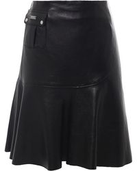 Barbour - Shadow Leather Skirt - Lyst