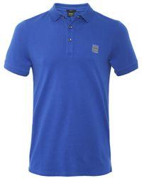 BOSS - Slim Fit Passenger Polo Shirt - Lyst