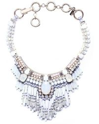 Butterfly - Santorini Statement Necklace - Lyst