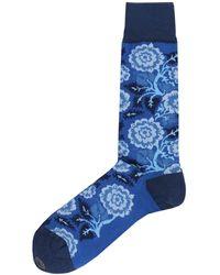 Effio - Rose Floral Socks - Lyst