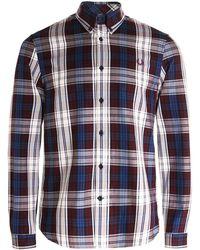 Fred Perry - Bold Tartan Check Shirt - Lyst