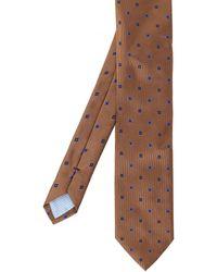 Stenstroms - Patterned Silk Tie - Lyst
