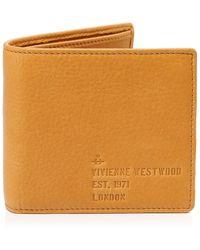 Vivienne Westwood - Leather Heath Billfold Wallet - Lyst