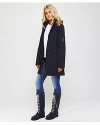 Ilse Jacobsen - Soft Shell 3/4 Raincoat - Lyst