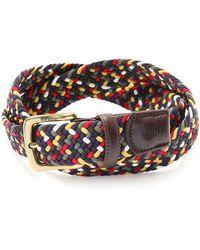Barbour - Tartan Coloured Stretch Belt Gift Box - Lyst
