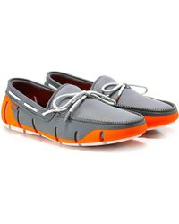 Swims - Stride Lace Loafers - Lyst