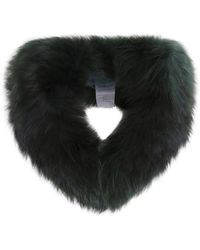 Oakwood - Raccoon Fur Toy Collar - Lyst