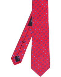 Ascot Accessories - Patterned Silk Tie - Lyst