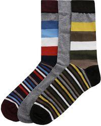 Barbour   Three Pack Of Heywood Socks   Lyst