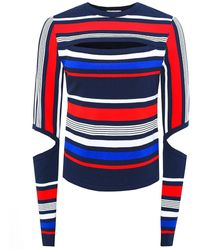 Tommy Hilfiger - Gigi Hadid Striped Jumper - Lyst