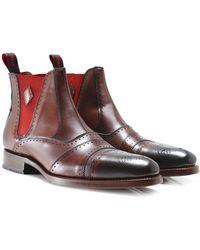Jeffery West - Leather Dexter Chelsea Boots - Lyst