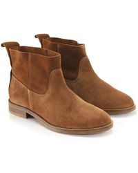 H by Hudson - Suede Odina Ankle Boots - Lyst