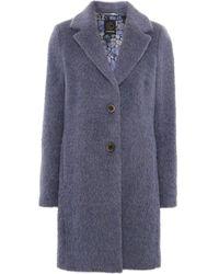 Creenstone - Wool Classic Coat - Lyst