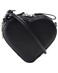 Vivienne Westwood - Small Johanna Heart Handbag - Lyst