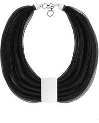 Christina Brampti - Multi Mesh Rope Necklace - Lyst