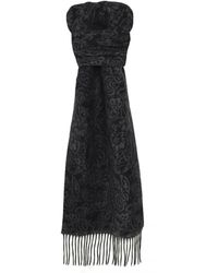Ascot Accessories - Patterned Cashmere Scarf - Lyst