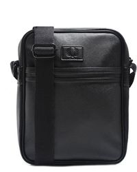 Fred Perry | Saffiano Effect Messenger Bag | Lyst