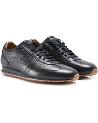 BOSS Orange - Leather Orland_lowp_tb Trainers - Lyst