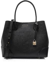 MICHAEL Michael Kors - Pebbled Leather Tote Bag - Lyst