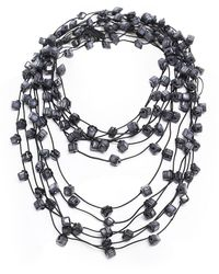 Jianhui - Ceramic Bead Necklace - Lyst