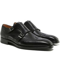 Magnanni - Dublin Double Monk Strap Shoes - Lyst