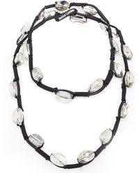 Jianhui   Crystal Bead Necklace   Lyst