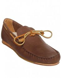 J SHOES - Brown Soft Leather Moccasins - Lyst