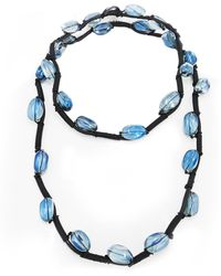 Jianhui - Crystal Bead Necklace - Lyst