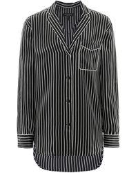 Rag & Bone - Silk Hahn Pyjama Shirt - Lyst