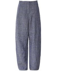 Oska - Vaja Check Trousers - Lyst