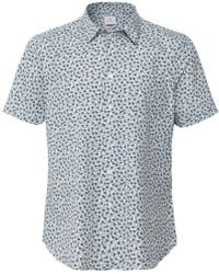 5eae9eee PS by Paul Smith - Slim Fit Short Sleeve Floral Shirt - Lyst