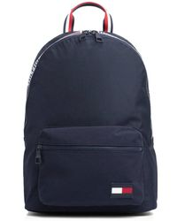 Tommy Hilfiger - Navy Sport Tape Backpack - Lyst