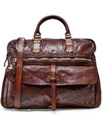 50de70728e6 Campomaggi - Leather Professional Shoulder Bag - Lyst